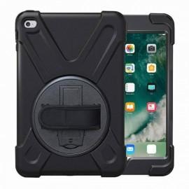 Casecentive - Coque Antichoc - Poignée rotative 360 iPad - Mini 4 Noir