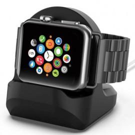 Casecentive Station de Chargement Apple Watch 1 / 2 / 3 Noir