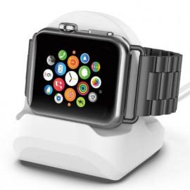 Casecentive Station de Chargement Apple Watch 1 / 2 / 3 Blanc