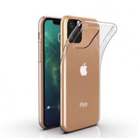 Casecentive Coque Transparente Silicone Légère Fine pour iPhone 11 Pro Max