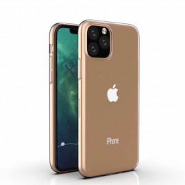 Casecentive Coque Transparente Silicone Légère Fine pour iPhone 11