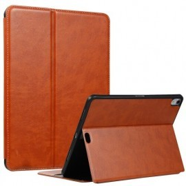 "Casecentive Coque Folio iPad Pro 11"" Brun / Marron"