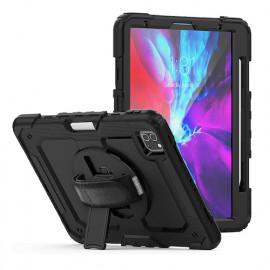 "Casecentive Handstrap Pro Coque Antichoc Poignée iPad Pro 12.9"" 2020"