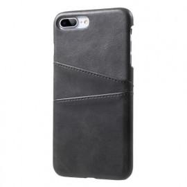 Casecentive Coque Dos Portefeuille iPhone 7 / 8 Plus Noire
