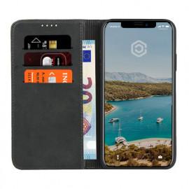 Casecentive Coque Portefeuille iPhone XS Noir
