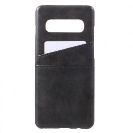 Casecentive Dos Portefeuille Samsung Galaxy S10 Noire