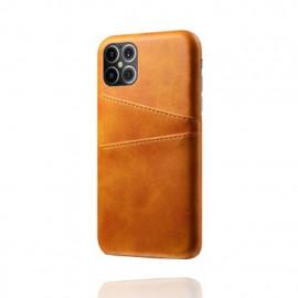 Casecentive - Coque cuir iPhone 12 Pro Max - Porte carte