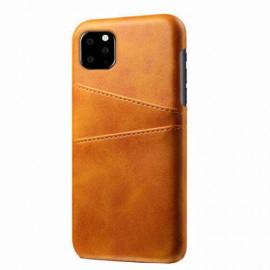 Casecentive Coque Dos Portefeuille iPhone 11 Pro Max Brune