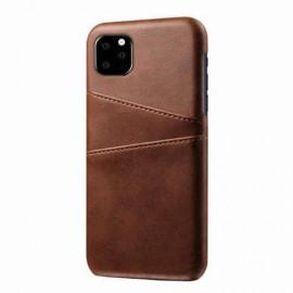 Casecentive Dos Portefeuille iPhone 11 Pro Marron