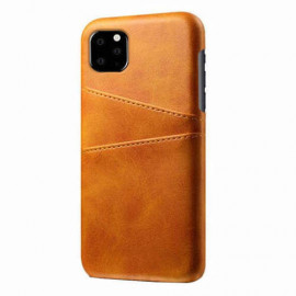 Casecentive Dos Portefeuille iPhone 11 Pro Brune
