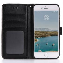 Casecentive Coque Portefeuille iPhone 7 / 8 / SE 2020 noir