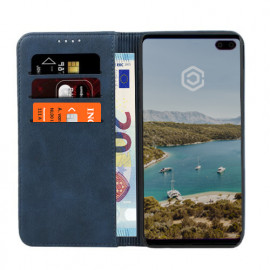 Casecentive - Étui portefeuille En cuir - Samsung Galaxy S10 Plus - Bleue