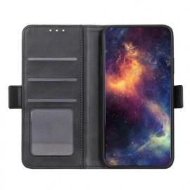 Casecentive Portefeuille magnétique - Samsung Galaxy S20 Ultra en cuir - Noir