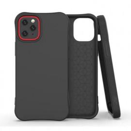 Casecentive Soft TPU - Coque iPhone 12 biodégradable et écologique - Noir