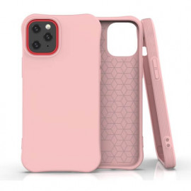 TulipCase Soft TPU - Coque iPhone 12 Mini biodégradable et écologique - Rose
