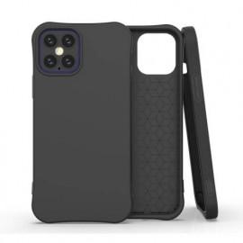 TulipCase Soft TPU - Coque iPhone 12 Pro biodégradable et écologique - Noir