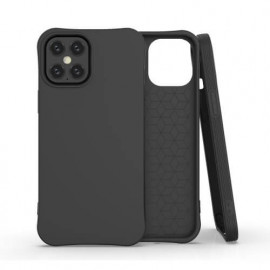 TulipCase Soft TPU - Coque iPhone 12 Pro Max biodégradable et écologique - Noir
