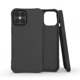 TulipCase Soft TPU - Coque iPhone 12 Mini biodégradable et écologique - Noir