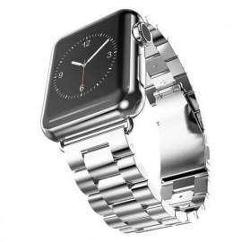 Casecentive bracelet acier inoxydable Apple Watch 38 / 40 mm Argent