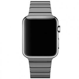 Casecentive bracelet acier inoxydable Slim Apple Watch 42 / 44 mm Noir