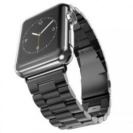 Casecentive bracelet acier inoxydable Apple Watch 42 / 44 mm Noir