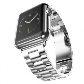 Casecentive bracelet acier inoxydable Apple Watch 42 / 44 mm argent