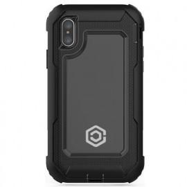 Casecentive Ultimate Coque antichoc pour iPhone X / XS noire