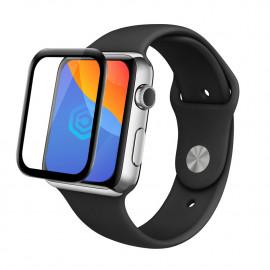 Casecentive - Verre trempé 3D - Apple Watch 44 mm