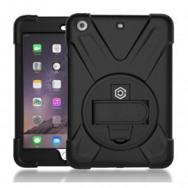 Casecentive Handstrap - Coque Antichoc - iPad Mini 1 / 2 / 3 noir