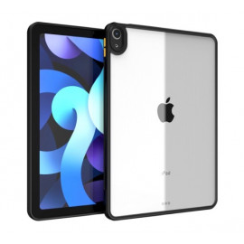 Casecentive - Coque iPad Air 2020 - Noire et transparente