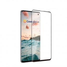 Casecentive - Vitre de protection en verre trempé 3D Couverture totale - Samsung S10