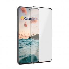 Casecentive - Vitre de protection en verre trempé 3D couverture totale - Samsung Galaxy S20 Ultra