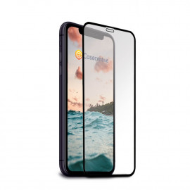 Casecentive - Vitre de protection en verre trempé - 3D Couverture totale - iPhone 11