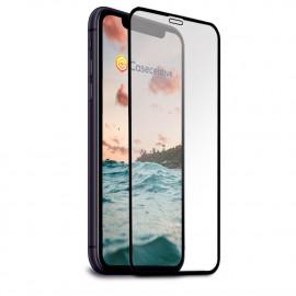 Casecentive - Vitre de protection en verre trempé - 3D Couverture totale - iPhone 11 Pro Max