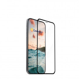 Casecentive - Vitre de protection en verre trempé - 3D Couverture totale - iPhone 12 Mini