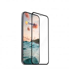 Casecentive - Vitre de protection en verre trempé - 3D Couverture totale - iPhone 13 Pro / iPhone 13