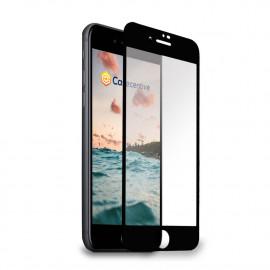 Casecentive - Vitre de protection en verre trempé - 3D Couverture totale - iPhone 7 / 8