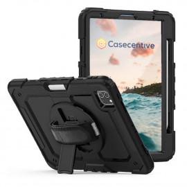 "Casecentive Handstrap Pro Coque Antichoc Poignée iPad Pro 12.9"" 2021 / 2020 / 2018"
