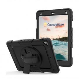 Casecentive Handstrap Pro Coque Antichoc avec Poignée iPad 2017 / 2018