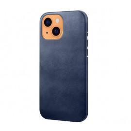 Casecentive - Coque en cuir iPhone 13 - Bleu