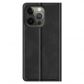 Casecentive - Étui portefeuille iPhone 13 Pro Max magnétique - Noir
