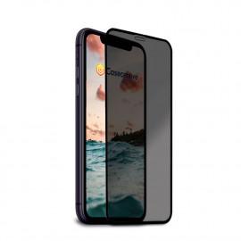 Casecentive - Vitre de protection en verre trempé 3D couverture totale - Anti-Espion - iPhone 11
