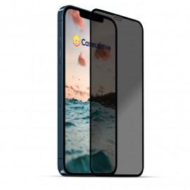 Casecentive - Vitre de protection en verre trempé 3D couverture totale - Anti-Espion - iPhone 11 Pro Max