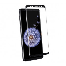 Casecentive - Vitre de protection en verre trempé 3D couverture totale - Samsung Galaxy S9 Plus