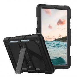 Casecentive Ultimate - Coque Antichoc - Galaxy Tab S6 Lite 10.4 2020 noir
