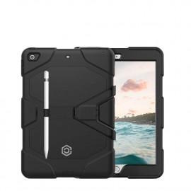 Casecentive Ultimate Hardcase - Coque Antichoc iPad 10.2 - Noire