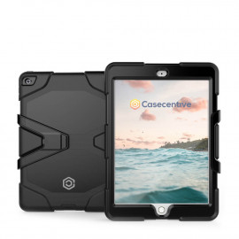 Casecentive Ultimate - Coque Antichoc - iPad 2017 / 2018 Noir