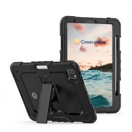 Casecentive Ultimate Hardcase - Coque iPad 2020 10.9 - Noire