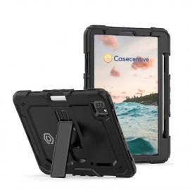 Casecentive Ultimate - Coque Antichoc - iPad Pro 11 pouces 2021 / 2020 / 2018 Noir