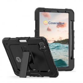 Casecentive Ultimate - Coque Antichoc - iPad Pro 12,9 pouces 2021 / 2020 / 2018 Noir